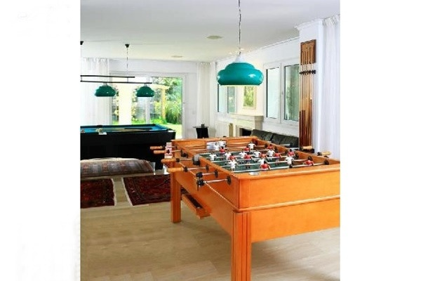 The spacious games room that leaves nothing to be desired