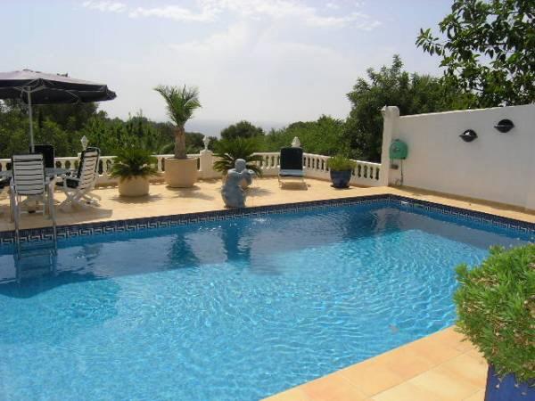 villa benissa villa con piscina y jard n rom ntico en