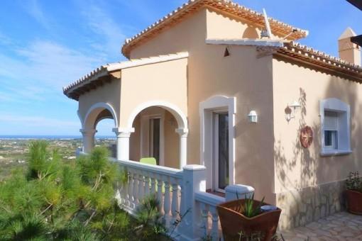 Mediterranean villa with impressive panoramic view