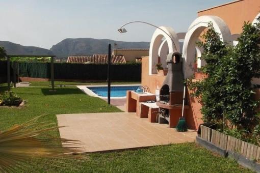 Large, beautiful villa located in Javea on Montgo