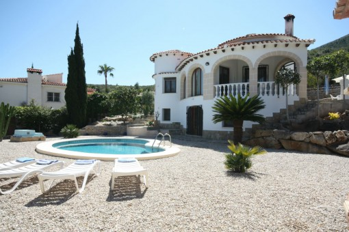 Charming villa with pool in Denia, Alicante