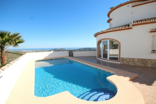 Villa with pool and stunning sea views near Dénia, Alicante