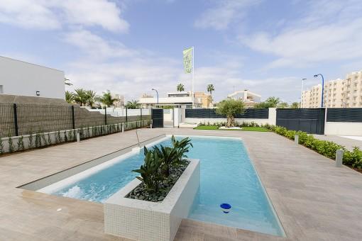 Impressive newly-built villa in Playa Honda, Cartagena